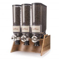 Coffee bean display
